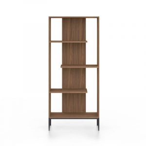 Austin Walnut Bookcase