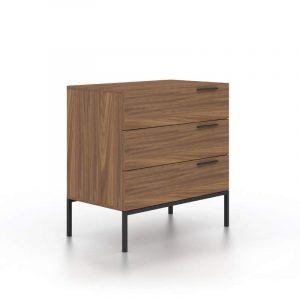 Austin Walnut Chest / Half Dresser