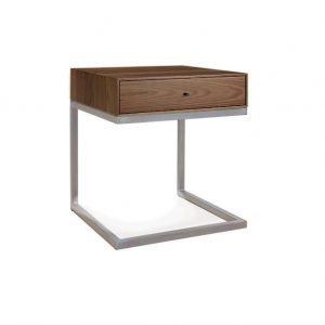 Continental Walnut Night Table / End Table
