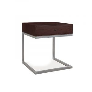 Continental Wenge Nightstand/End Table