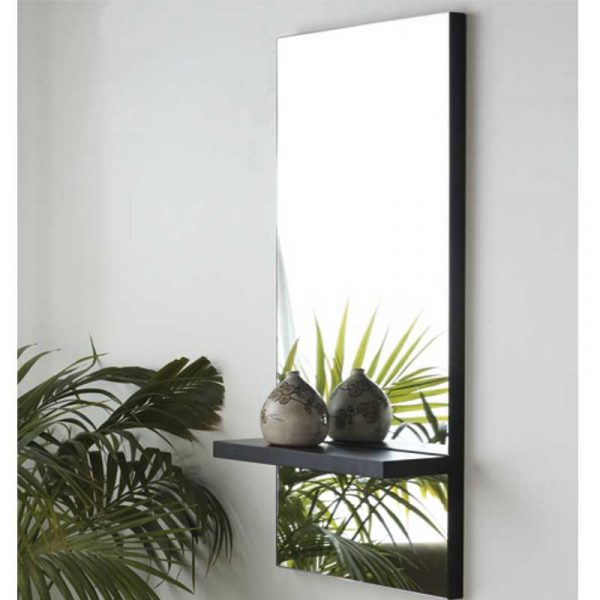 Greenwich Charcoal Small Mirror