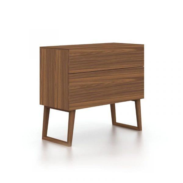 Hayden Walnut Chest / Half Dresser