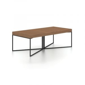 Mercer Walnut Coffee Table