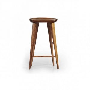 Metro Walnut Counter Stool