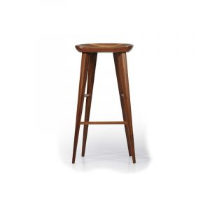 Metro Walnut Bar Stool