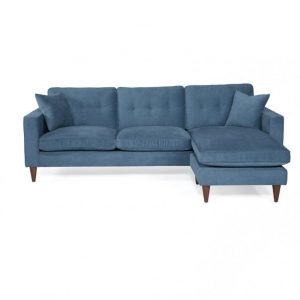 Theo Bi-Directional Sectional With Feather / Fiber Fill Cushions